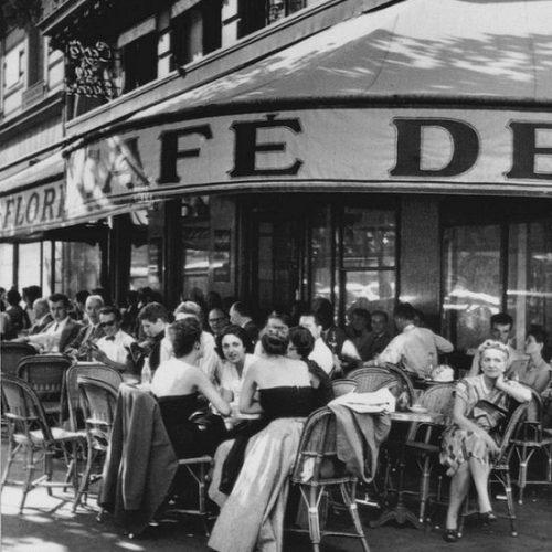 iconic cafe de flore paris